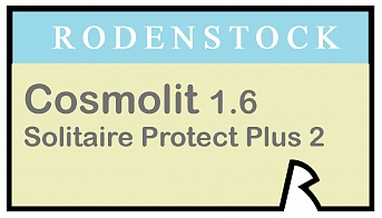 Rodenstock Cosmolit 1.6 Solitaire Protect Plus 2