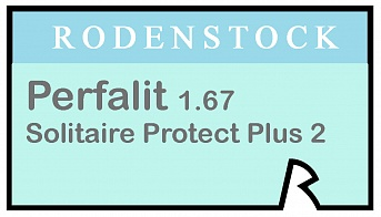 Rodenstock Perfalit 1.67 Solitaire Protect Plus 2