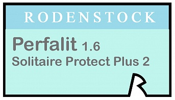 Rodenstock Perfalit 1.6 Solitaire Protect Plus 2