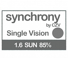 Synchrony Single Vision 1.6 SUN